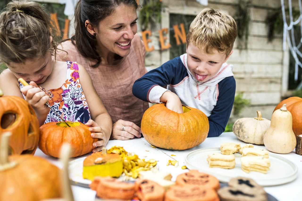 Halloween food festival for children