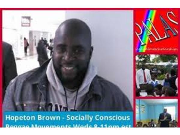Reggae Wednesdayz – Roots rock regae with Hopeton Brown